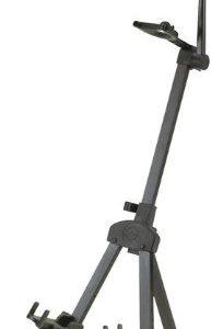 K&M Compact Violin/Viola Stand Black